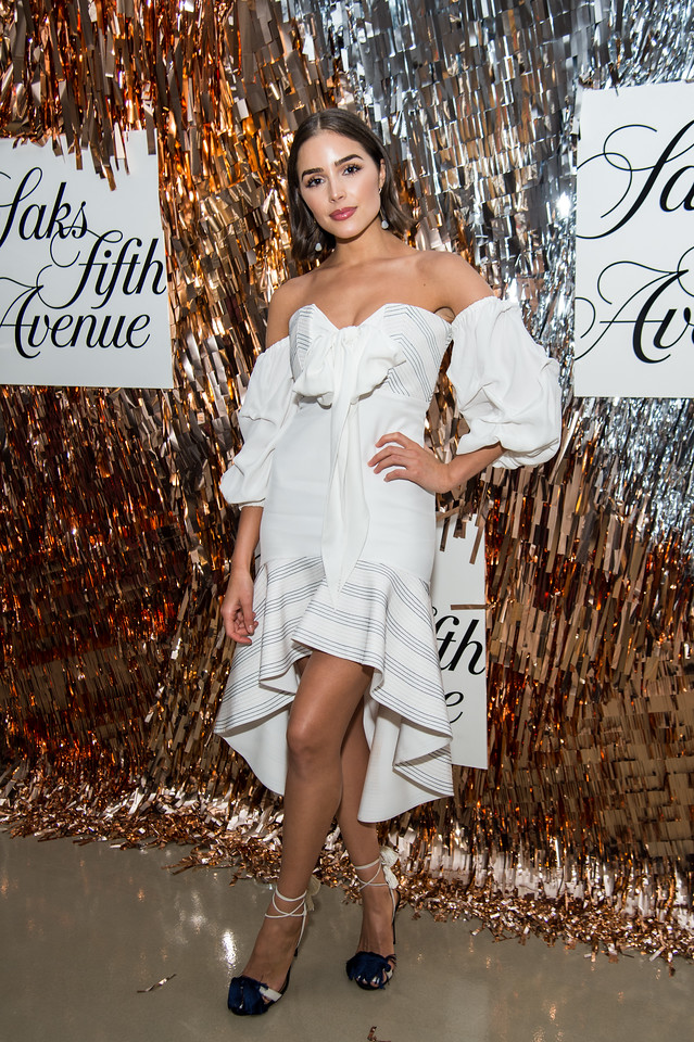 Former  Miss USA Olivia Culpo and Saks 5th Avenue Celebration
