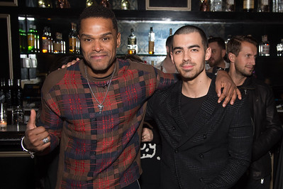 Singer/Record Producer Maxwell and Singer Joe Jonas private party