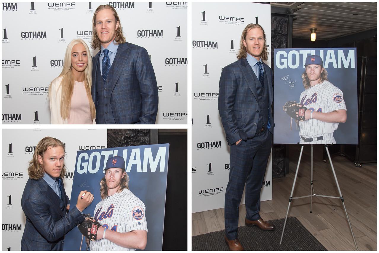 New York Mets and Gotham Magazine Event