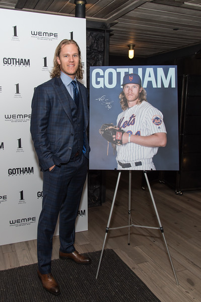 New York Met's Party with Pitcher Noah Syndergaard