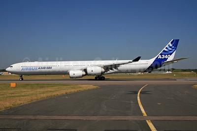 Airbus A340-642 F-WWCA (msn 360) FAB (SPA). Image: 924355.