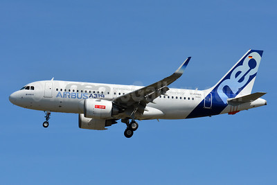 The first Airbus A319neo