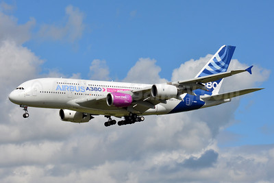 Test bed for the Airbus A350-1000 Rolls-Royce Trent XWB 97 engine