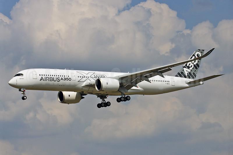 Airbus A350-941 F-WWYB (msn 005) TLS (Eurospot). Image: 923918.