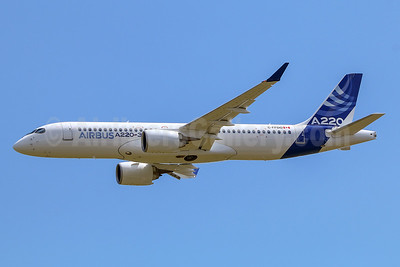 Meet the new Airbus A220-300 (ex CS300)