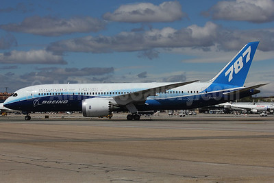 Boeing 787-8 Dreamliner N787BX (msn 40692) (ZA003 test aircraft) MAD (Ariel Shocron). Image: 908188.
