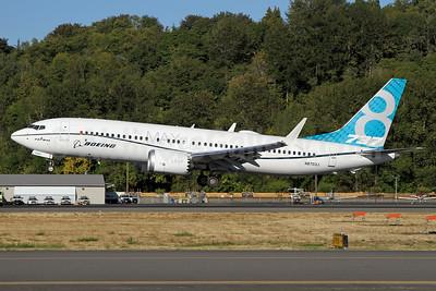 Boeing 737-8 MAX 8 SSWL N8703J (msn 42556) BFI (Nick Dean). Image: 934344.