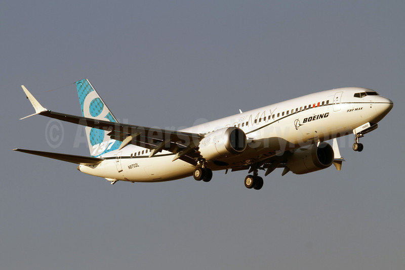 The second Boeing 737 MAX 8 arrives in Santiago, Chile