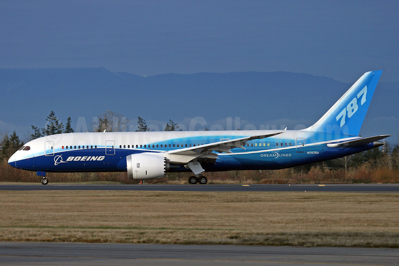 Boeing 787-8 Dreamliner N787BA (msn 40690) PAE (Nick Dean). Image: 904310.