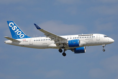Bombardier CSeries CS100 (BD-500-1A10) C-FFCO (msn 50006) YYZ (TMK Photography). Image: 933235.