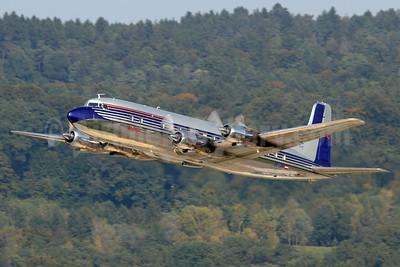 Red Bull Douglas DC-6B OE-LDM (msn 45563) ZRH (Andi Hiltl). Image: 939285.