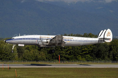 Breitling Super Constellation (Constellation Historical Society) Lockheed C-121C-LO (1049F) Super Constellation HB-RSC (msn 4175) GVA (Paul Denton). Image: 907278.