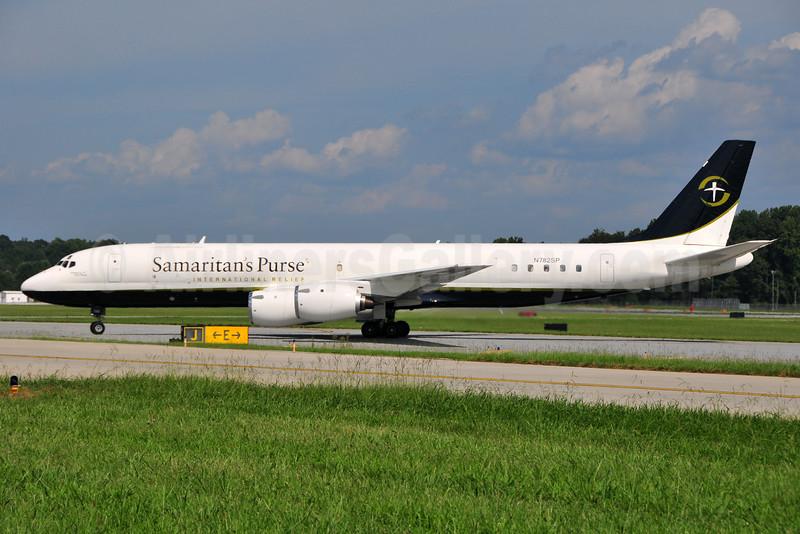 Samaritan's Purse International Relief McDonnell Douglas DC-8-72CF N782SP (msn 46013) GSO (Ken Petersen). Image: 934493.