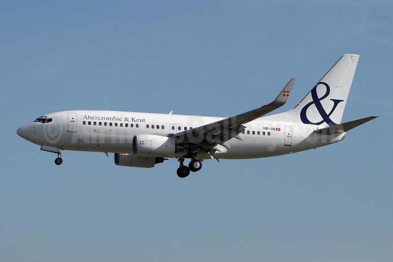 Abercrombie and Kent (PrivatAir) Boeing 737-7CN WL (BBJ) HB-IIQ (msn 30752) GVA (Paul Denton). Image: 922581.