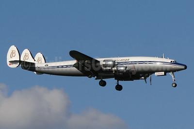 Breitling Super Constellation (Constellation Historical Society) Lockheed C-121C-LO (1049F) Super Constellation HB-RSC (msn 4175) BSL (Paul Bannwarth). Image: 94012.
