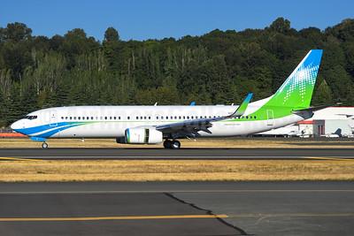 Saudi Aramco Boeing 737-800 WL (BBJ2) N801XA (msn 61781) BFI (Steve Bailey). Image: 940223.