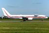 Honeywell Flight Test Boeing 757-225 N757HW (msn 22914) DUB (Greenwing). Image: 933626.