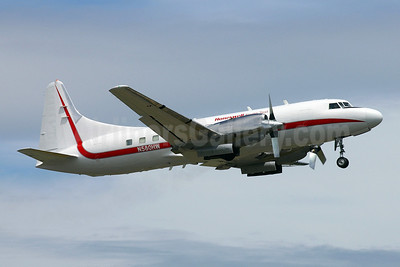 Honeywell Flight  Test Convair 580 N580HW (msn 2) BFI (Joe G. Walker). Image: 905167.
