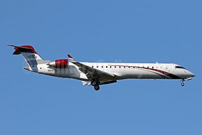 Joe Gibbs Racing Bombardier CRJ700 (CL-600-2C10) N519JG (msn 10217) IAD (Brian McDonough). Image: 946060