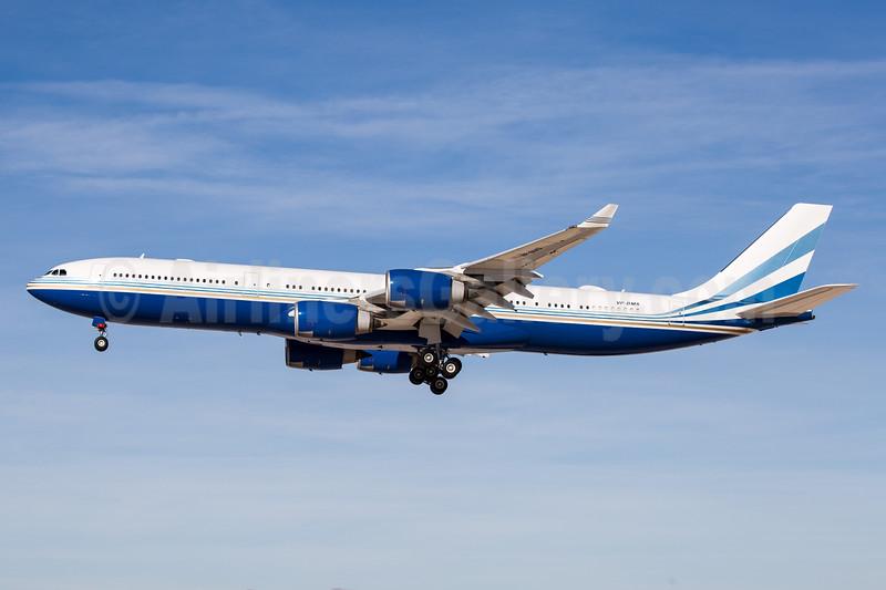 Las Vegas Sands Corporation Airbus A340-541 VP-BMS (msn 560) LAS (Arnd Wolf). Image: 940107.