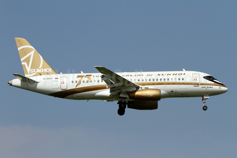 """75th Anniversary of Sukhoi"" special livery"