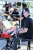 The Hum - Drums/Vocals:  Ron E Beck, Guitar/Vocals:  Dave Gonzales, Keyboard/Vocals:  Tony Macaronia Lufrano, and on Bass:  David De Silva.