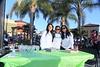 EVHS Volleyball Team - Catelin Khayatan, Danica Almazan, Coach Dio Aguinaldo.