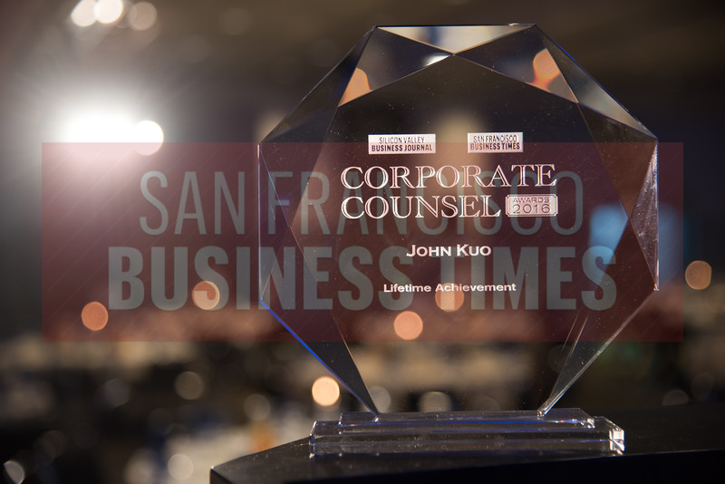 Best Bay Area Corporate Counsel Awards 2016