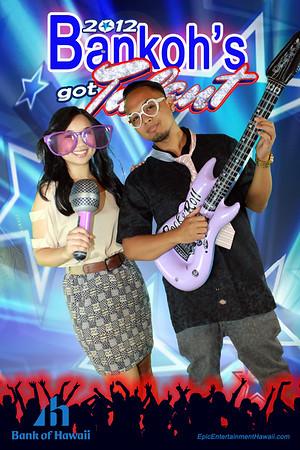 Bank of Hawaii Holiday Party 2012
