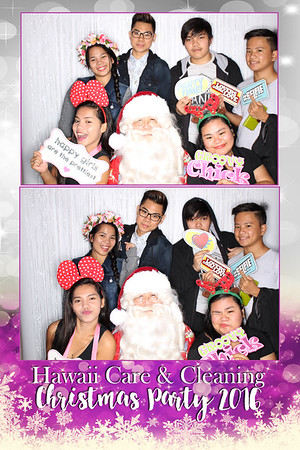Hawaii Care & Cleaning Christmas Party 2016