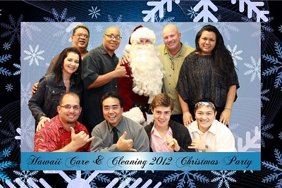 Hawaii Care & Cleaning Christmas Party 2012