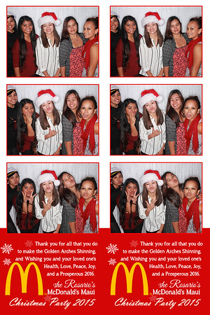 McDonald's Maui Christmas Party 2015