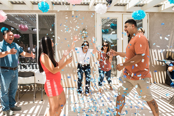 Michael + Eula Gender Reveal Party