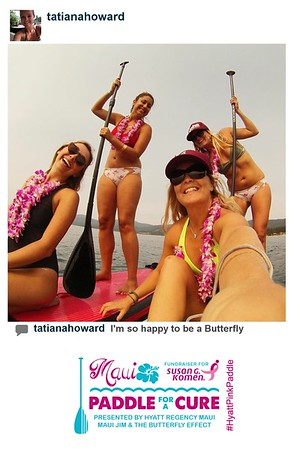 Paddle for a Cure Instagram Print Station
