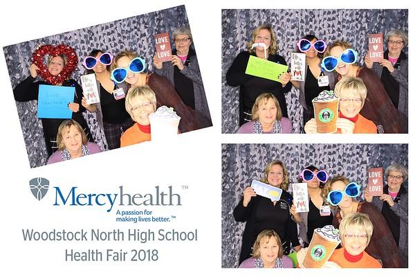 "Mercyhealth ""Woodstock North High School Health Fair 2018"""