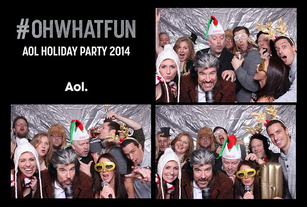 AOL Holiday Party 2014