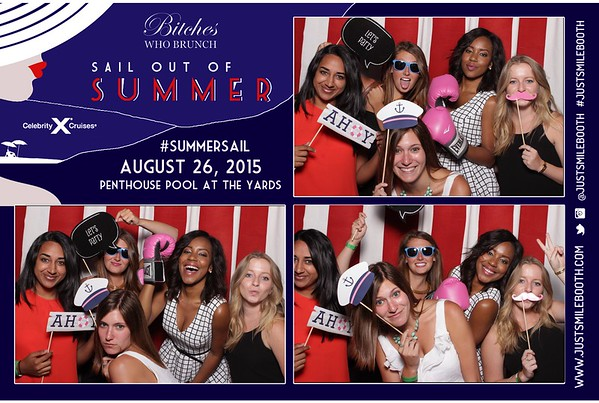 Bitches Who Brunch Sail Out of Summer 2015 Event