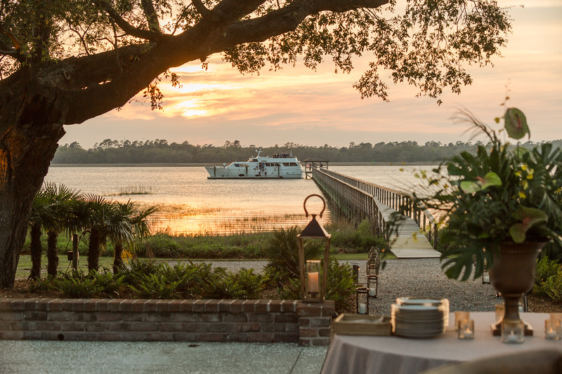 Yachting to Lowndes Grove for a Southern Supper