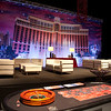"""Vegas """"Old School"""" Corporate Reception for 250 guests at Memminger Auditorium in Charleston, South Carolina"""