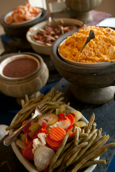 """What is a party without the """"Pate of the South,"""" pimento cheese?"""
