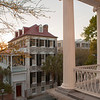 This is the perfect time of the year to see more of Charleston, due to the number of deciduous trees downtown. Note the wonderful railings on SC Hall.