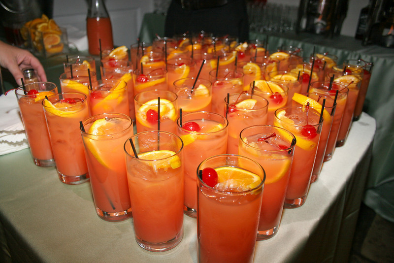 Our welcoming drink, Planters Punch, was offered to guests as they entered the Old Exchange Building, along with a touch of nutmeg on request; a Caribbean tradition. ...JMC Charleston - Special Event Production and Design offering Destination Management Services in Charleston, South Carolina