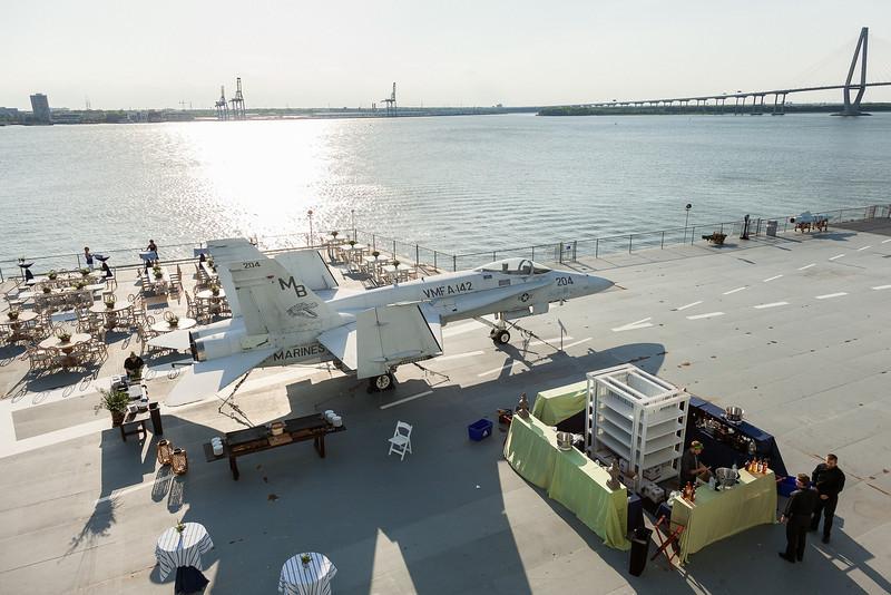 The Summer Breeze Soiree on the USS Yorktown