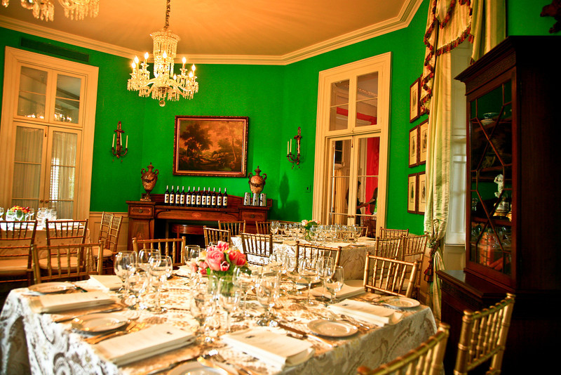 The decor of the William Aiken resonates from the Greek Revival period as this ballroom was added then.  The home is actually earlier. ...JMC Charleston - Special Event Production and Design offering Destination Management Services in Charleston, South Carolina
