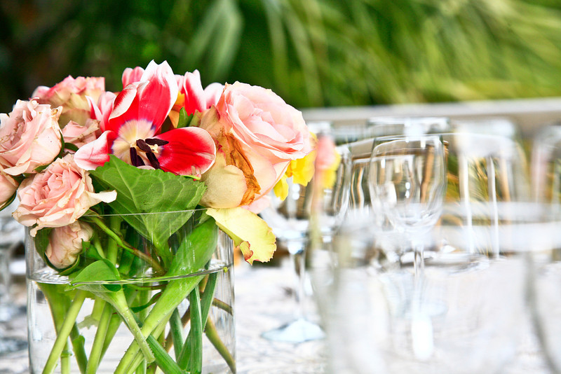 Garden roses and tuleps ...JMC Charleston - Special Event Production and Design offering Destination Management Services in Charleston, South Carolina