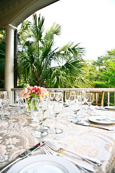 Some guests dined al fresco! ...JMC Charleston - Special Event Production and Design offering Destination Management Services in Charleston, South Carolina