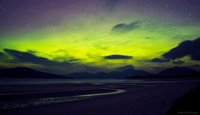 MoThomson_WestHarris10_Seilebost_northern_lights