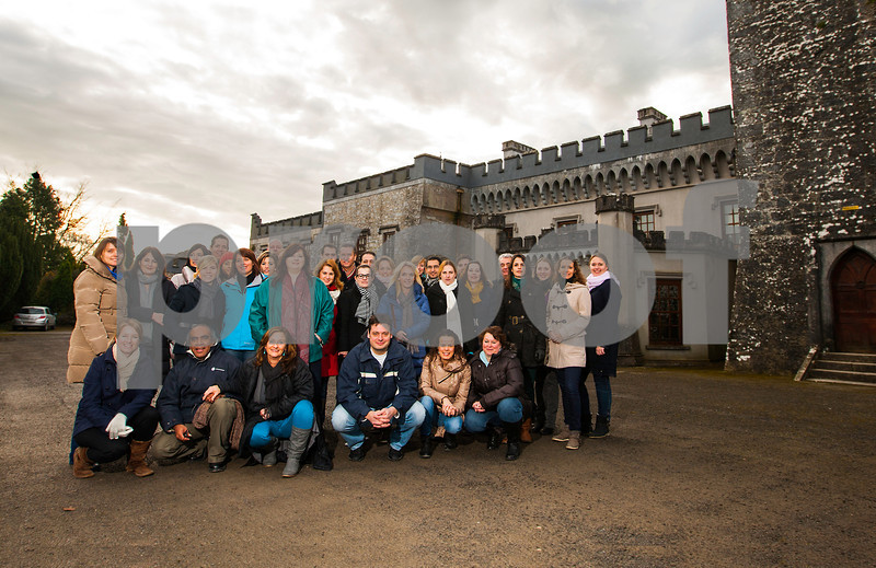 From a photo-shoot at Blackwater Castle , Castletownroche of the Aer Lingus Sales team, Benelux Countries on their visit to County Cork, February 9th 2013.  CLICK  ON  BUY    TO PURCHASE ANY IMAGES