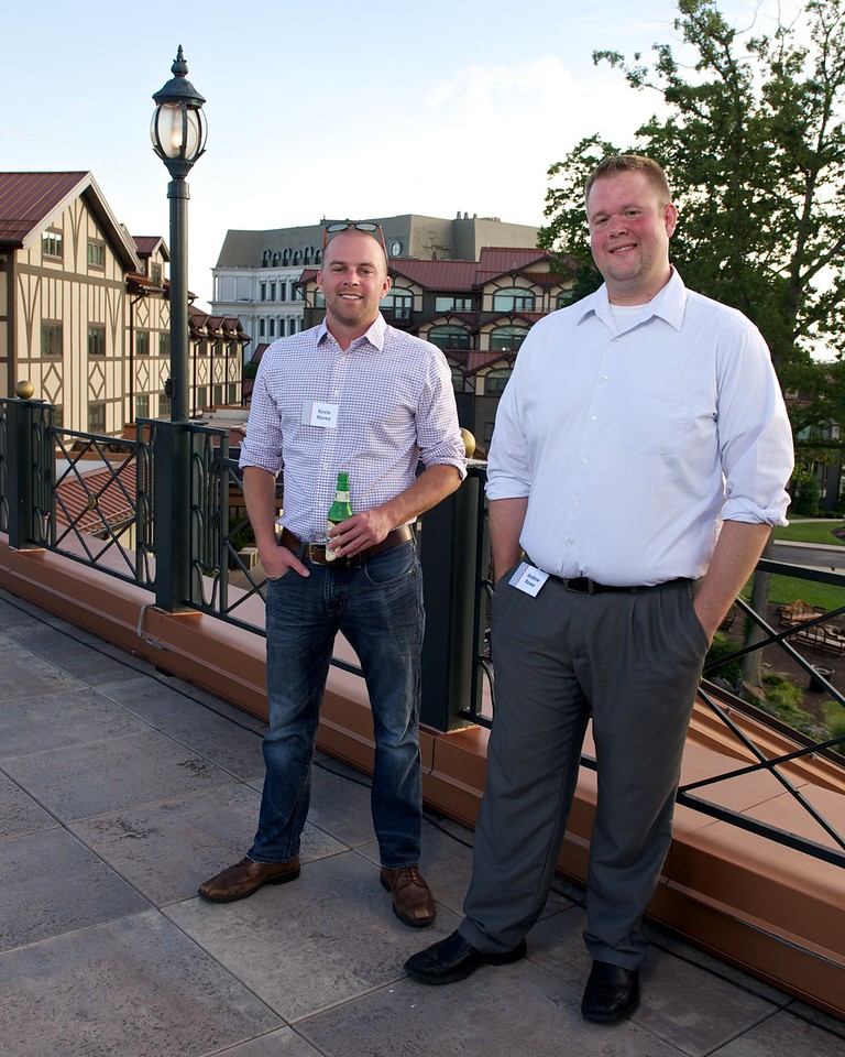 Sunset on the Plaza Decks with Sysco Corp at Nemacolin