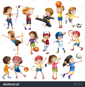 stock-vector-kids-playing-various-sports-on-white-228253495